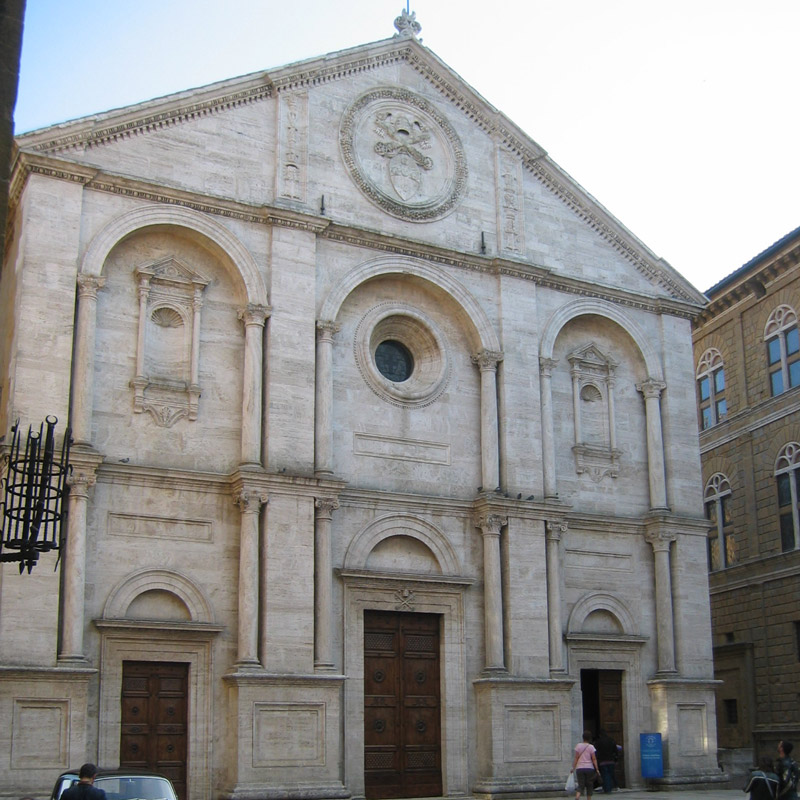 Cattedrale di Rossellino a Pienza