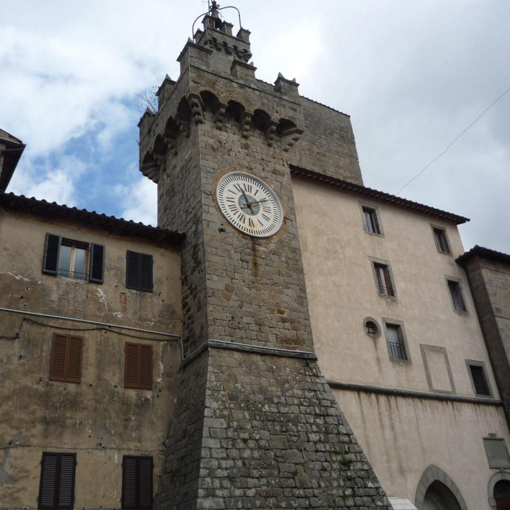 Piazza Garibaldi a Santa Fiora