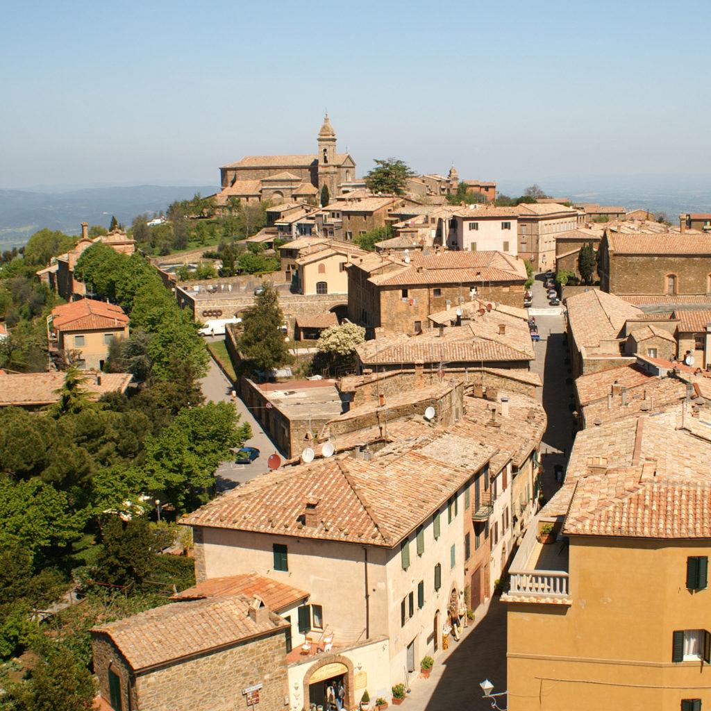 Comune di Montalcino nei pressi di Santa Fiora