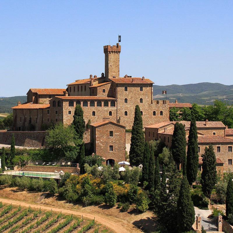 Villa Banfi a Montalcino